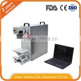 fiber laser marking machine price 10w 20w 30w metal ring wood acrylic glass plastic engraving for sale