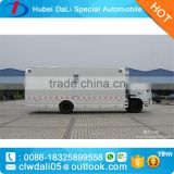 Dongfeng 4x2 fast food restaurant equipment mobile food trailer for sale