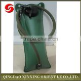 2014 Heated Collapsible Olive Green military drinking water bag/ Camping TPUWater Bladder