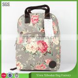 New Chinese style school bags girls&boy canvas backpack men's travel bags women backpacks