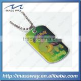 fashion printing cartoon aluminum brass men custom metal dog tag                                                                         Quality Choice