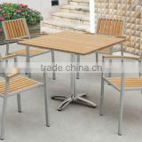 leisure ways patio furniture, polywood dinner chairs and table, cafe furniture