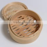 hygienic Natural Chinese Bamboo Bun Steamer