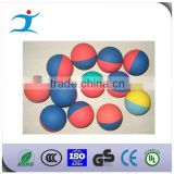 Rubber squash ball with customized logo print