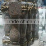 Granite marble decorative items, interior marble baluster for stairs, stone railing balustrade