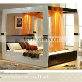 Newly customized white/black wooden RB01512 Bedroom Furniture Antique Interior Design Furniture from Shanghai JLC furniture