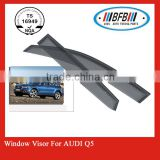 door visor set FOR Audi Q5 2010 sun and rain shields China manufacturer