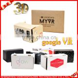 custom design google cardboard v2,hot business gift google cardboard vr                                                                         Quality Choice