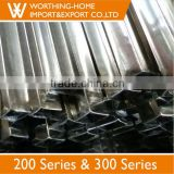 Specialize in manufacturing 300 series stainless steel square/round/rectangular tube/pipe price