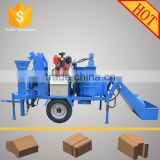 M7MI Twin compressed earth block machine price/ brick making machine/ hand operated brick making machine