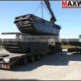 3 chains Amphibious Pontoon of Amphibious Excavator , Suitable to 20 to 23Ton Class Excavator , Model: MAX200PU