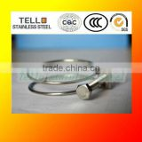 constant tension double wire hose clamp