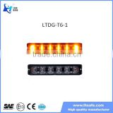 LED Safety Warning Lights in Liner 6 Lens 18W Surface Mount LED Strobe lighthead Traffic Truck Warning Light LTDG-T6-1