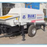 S valve HBT60S1413 90 Electric motor HONGDA Trailer Concrete Pump Made in CHINA For Sale