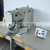 Flat-Bed Mechanical Configuration and Lock Stitch Stitch Formation Button holing sewing machine