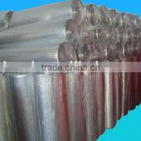 Fire retardant aluminum foil sandwiched with single & double bubble film heat insulation