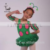 2015 new lovely performance dancing costume for girls