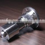 stainless steel cnc machining parts,precision customized turning parts and knurl shaft in CNC machining