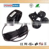 Wholesales price ! Interchangable 9v0.5a ac dc adapter for Audio ,Vedio and other electronic prodcut