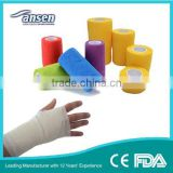 Cotton Cohesive Flexible Bandages Elastic Crepe Bandage