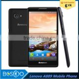 "Original Lenovo A889 mobile phone IPS 6.0"" MTK6582 Quad-Core WCDMA WIFI 1G RAM 8G ROM Android 4.2 ,8.0MP Dual sim Smart Phone"
