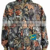 Men's outdoor camouflage uniform maple leaves printing army camouflage hunting jacket