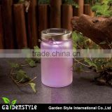 led lighting product with a metal hook, solar sun jar lighting design, purple new led lighting
