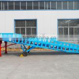 heavy duty loading ramp with hydraulic control
