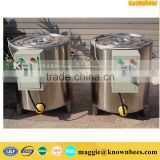 candle production low melting point wax melting tank