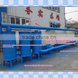 waste recycling machinery jute stick charcoal powder machine