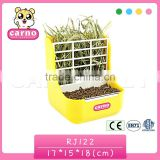 pet product plastic hay cage for rabbit pet toy