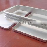 Aluminum frozen molding with cover for fish block frozen