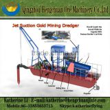 Best Selling Gold Suction Dredges Boat For Sale