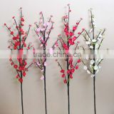 CHY011811 artificial peach blossom tree branches silk flower peach