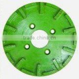 250mm/10 inch D-250T diamond grinding disc for L550 floor grinder
