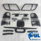 4x4 Accessories Hilux Vigo Car Body Kits Covers Matte Black Covers