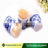 ZHUPING High Quality 65mm customized Discount Bulk Bamboo Toothpick