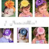 baby headband wholesale Newest Fashion Accessories Multicolour Flowers Hair Bands Clips Headbands for Girl and Women