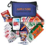 Cold Weather Kit - has sunscreen, tissue, thermal blanket, hand & toe warmers, tweezers, lip ointment and comes with your logo