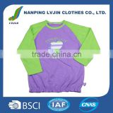 Baseball sport tee shirts wholesale raglan custom cheap round neck baby raglan t-shirts baby clothes