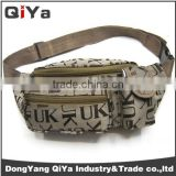 Promotional Wholesales Custom Solid Printed Sport Hip Fanny Pack Waist Bag Coin Pouch For Men Bottle