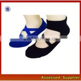 New design !Custom made Combed Cotton Bandage Yoga Socks/Anti-slip Women Ballet Socks/Yoga Pilates Socks--AMY725