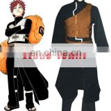 Fantasia Anime Lolita Dress-High Quality Naruto Shippuden Gaara Black Anime Cosplay Costume Cheap Costume C0366