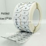 Blocking Pad,lens edging pads,more adhesive,good quality(17*33 ellipse)