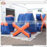 Factory price inflatable airsoft bunker,inflatable paintball bunker,inflatable bunker games for sale