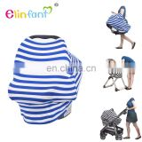 Elinfant High quality Stretchy stripes multi-use baby car seat cover baby carriages cradle cover