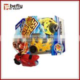 How a toy friction plastic friction motorcycle toy