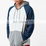 wholesale men's bonded fleece solid color plain printed long sleeve hip hop pullover
