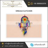Multicoloured Rainbow Design Dream Catcher Available from Trusted Supplier