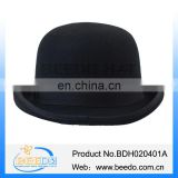 China factory men wool black english derby bowler hat